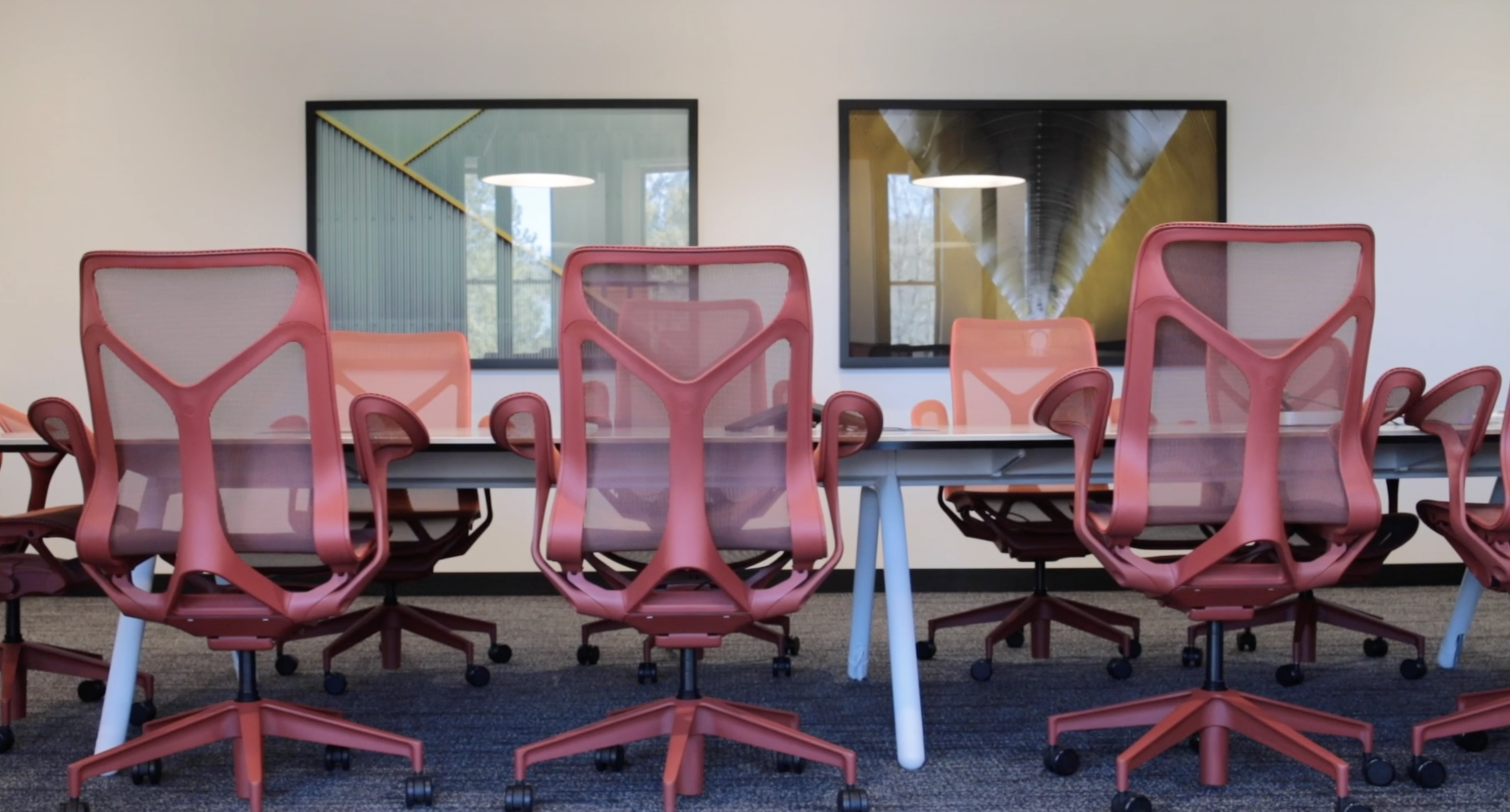 Cosm Chairs by Herman Miller